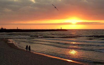 Starosta Kołobrzeski Tomasz Tamborski w temacie plaż